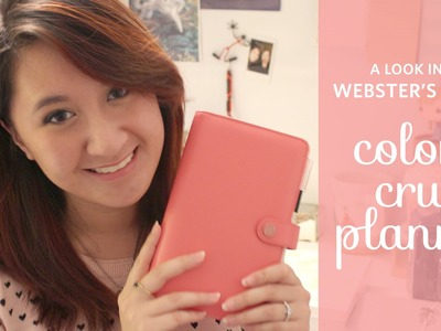 A Look Into Webster's Pages Color Crush Planner (Light Pink)