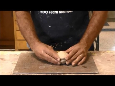 Art Design- How to form a hollow ball out of clay