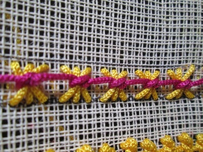 BUTTERFLY STITCH ( TAMIL) - HAND EMBROIDERY STITCHES - EASYSTEPS