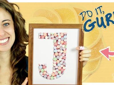 Candy Monogram - Do It, Gurl