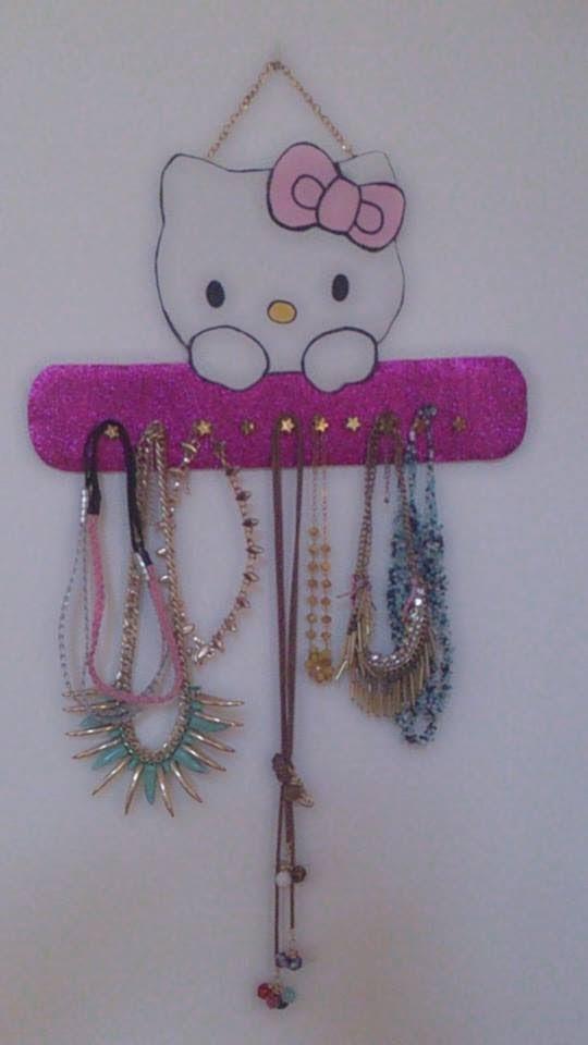 Colgante de collares de Hello Kitty