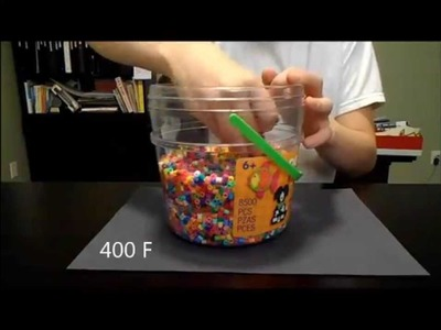 Cooking With Perler Beads Ep.1 (Starring David)