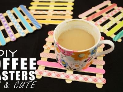 DIY Coffee Coasters | EASY & CUTE DIY Home Decor
