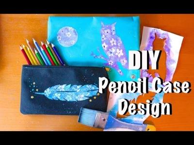 DIY Pencil Case Designs | Cheap Back to School Art
