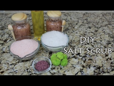 DIY Salt Scrub | Bath and Body Series | MariaAntoinetteTV