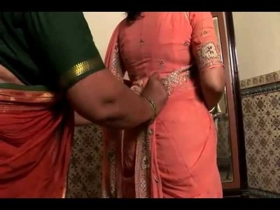 Draping a Traditional Maharashtrian Sari