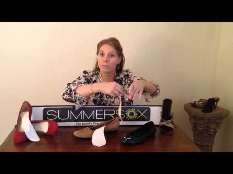 How to get the no-sock look & make shoes more comfortable with SummerSox flat socks