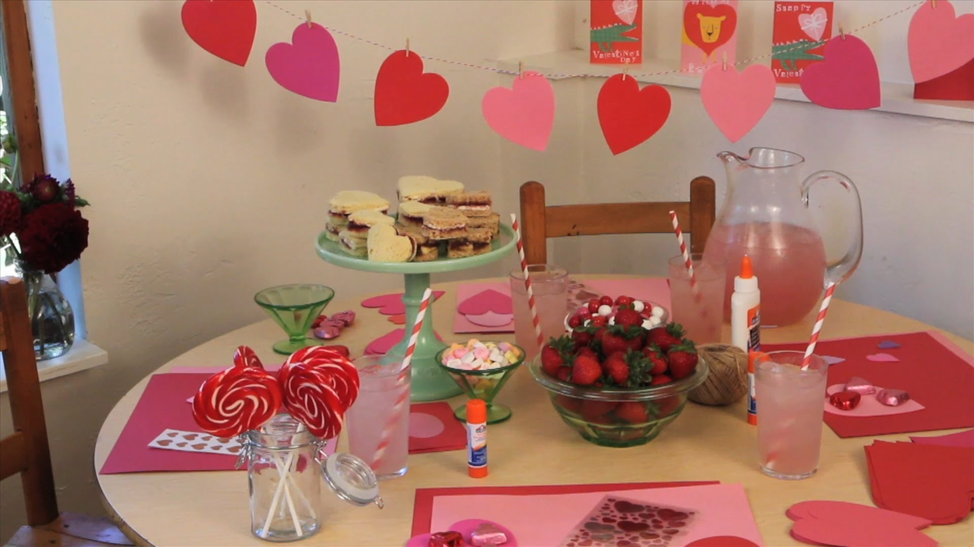 How to Host a Valentine's Day Party: Valentine's Day Sweet Treats