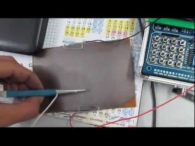 How to make a touch pad