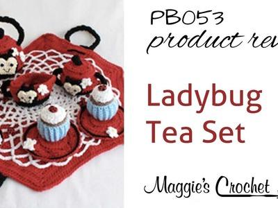 Ladybug Tea Set Product Review PB053