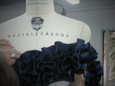 Marialexandra - Making a gown for the 2009 Oscars
