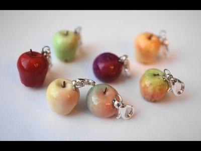 Miniature Apples Tutorial, Polymer Clay Tutorial