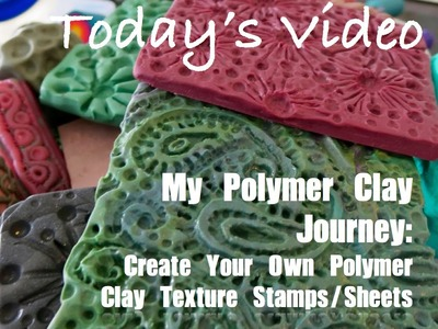 My Polymer Clay Journey: Make Your Own Original Polymer Clay Texture Plate