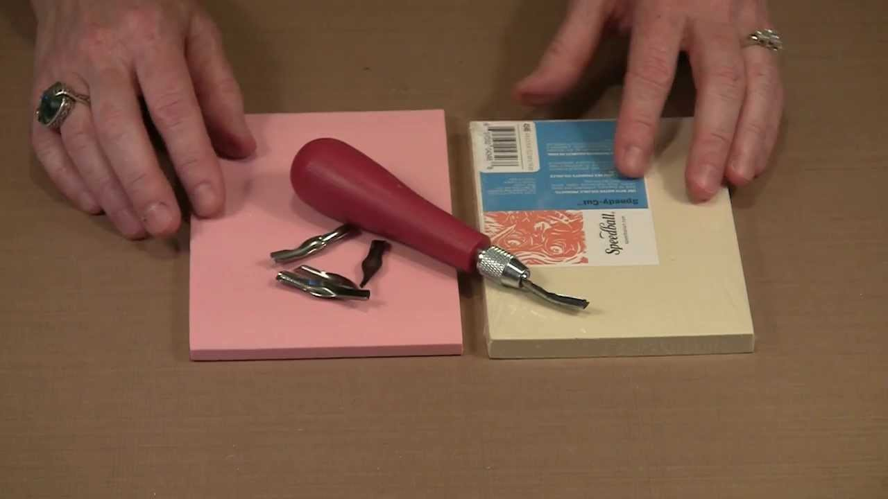 Personal Imagery: Carving Rubber Stamps by Joggles.com
