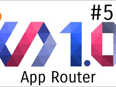 Polymer 1.0 Tutorial #56 Routing with app router