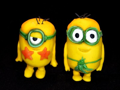 Polymer cay Minions movie series part 1 prehistoric minions tutorial