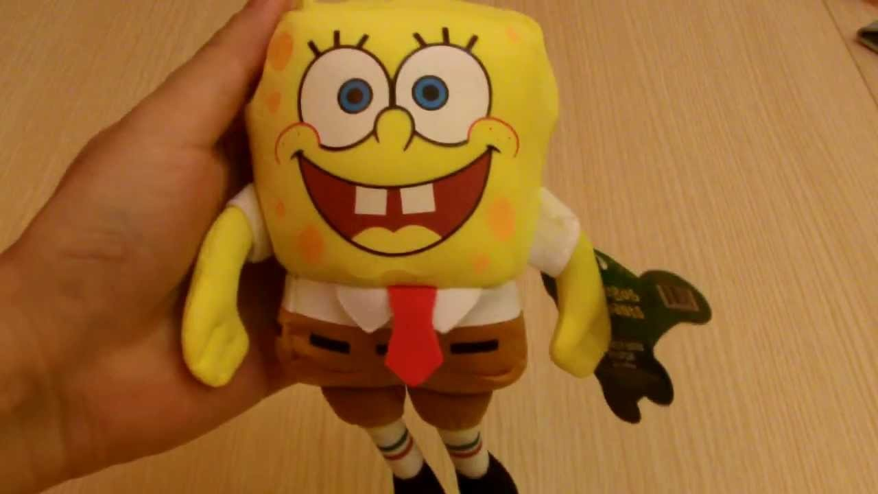Product Review: SpongeBob SquarePants Sponge Bob Soft Beanie Plush Keychain
