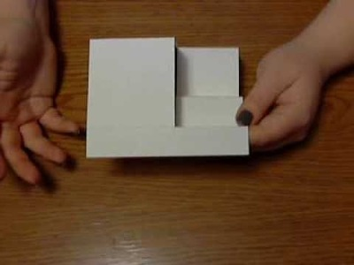 Side Step Folded Card