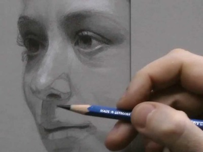 Time-lapse Portrait Drawing Demonstration by David Jamieson #3