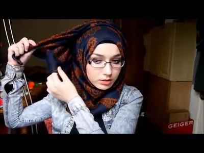 Tutorial How To Wear Hijab Modern, Rectangle Hijab, Hijab Syar'i Pashima, and Jilbab Paris Triangle