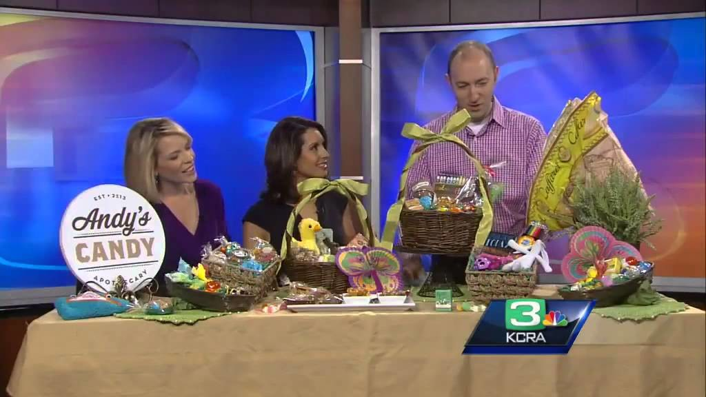 Cute and creative Easter basket ideas from Andy's Candy