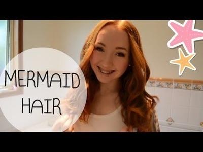 D.I.Y. Sea Salt Spray+Mermaid Curls!