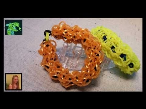 Dark Matter Bracelet on the Monster Tail Loom by Willlowcreat