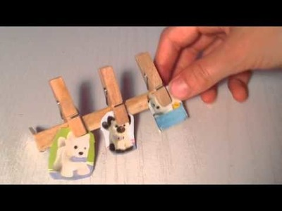 DIY Crafts made with Popsicle sticks for AG Dolls