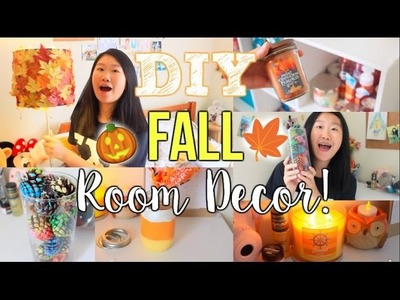 DIY Fall Room Decorations+ Make Your Room Cozy for Fall!