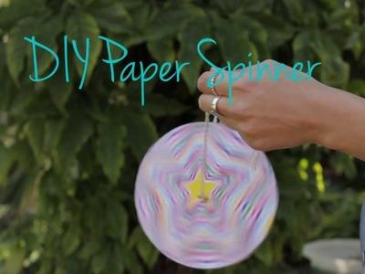 DIY Paper Spinner
