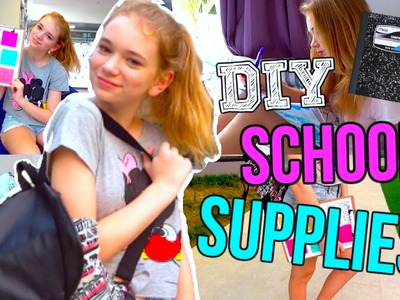 DIY School Supplies! | Back to School 2015!