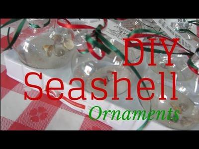 DIY Seashell Christmas Ornament   Holiday Hodgepodge (Vlogmas) Day 6