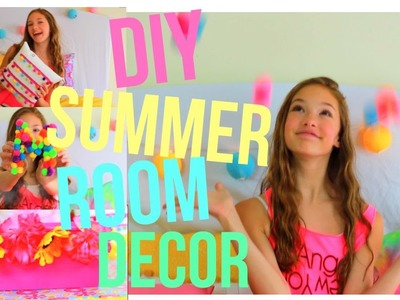 DIY Summer Room Decor.COLLAB!!