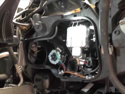DIY Xenon Bulb Replacement for BMW E90 2007
