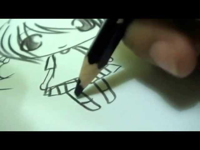 Draw anime chibi with me :)