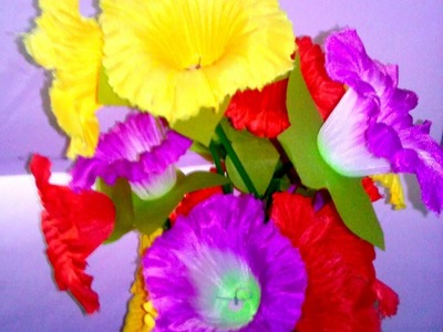 Flower making with cloth in a very easy way - DIY