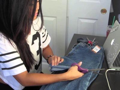 High Waisted Shorts DIY & Lookbook