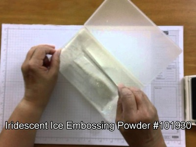 How to Emboss with Dye-Based Ink