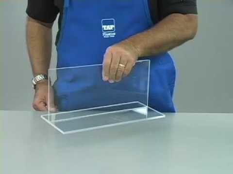 How to glue Acrylic