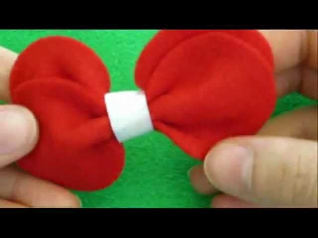 How To Make A Bow - Bow Tie