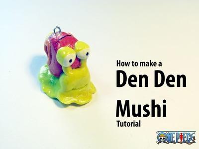 How to make a Den Den Mushi tutorial- Polymer Clay