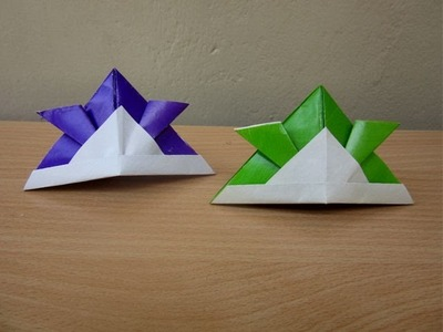 How to Make a Paper Samurai Helmet - Easy Tutorials