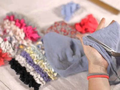 How to Make a Rag Rug - Choosing and Preparing Materials