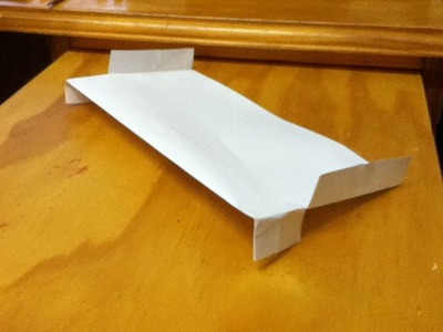 How to Make a Rectangular Paper Plane - A Great Glider - Step by Step Instructions - Simple Folds