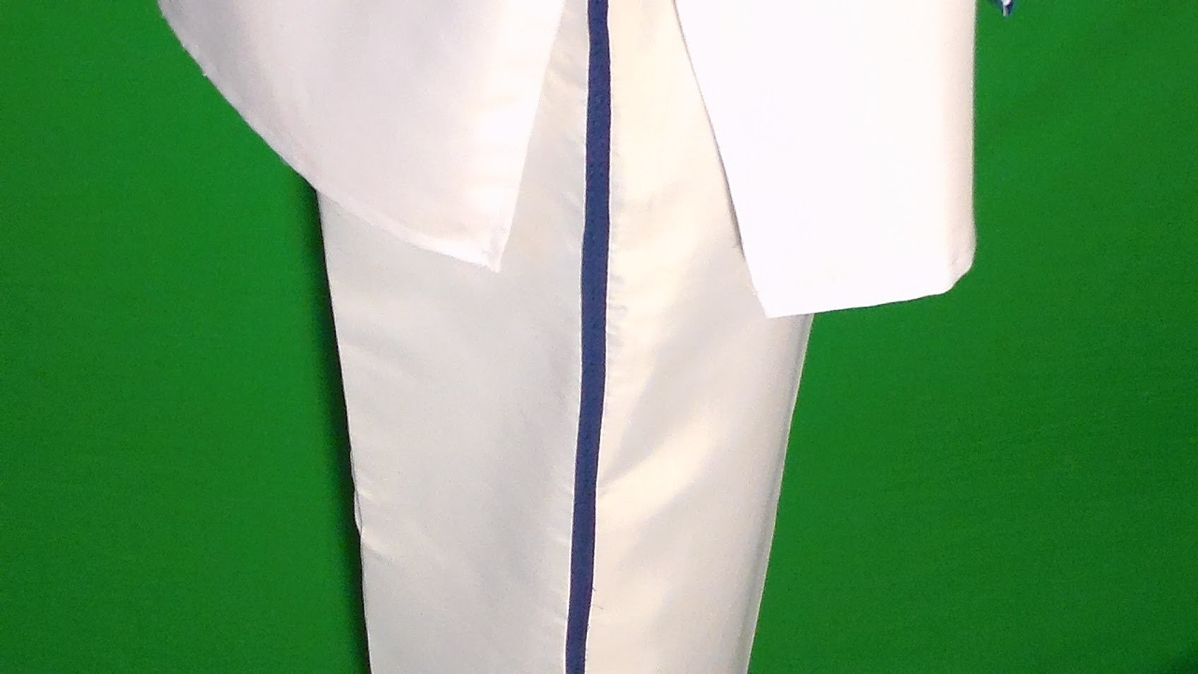 HOW to make karate pants from a shower curtain