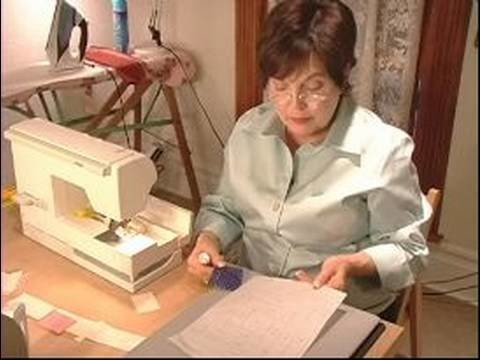 How to Make Quilts : How to Use Velum in Your Log Cabin Quilt