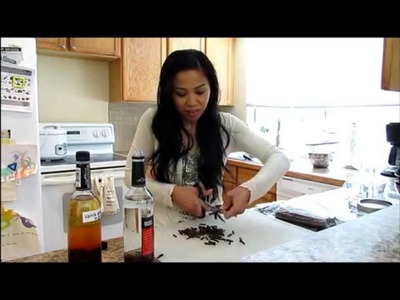 How To Make Vanilla Extract EASY