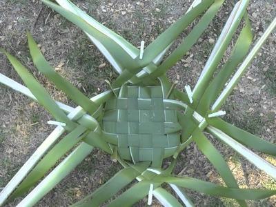 How to Weave a Kono (food basket)