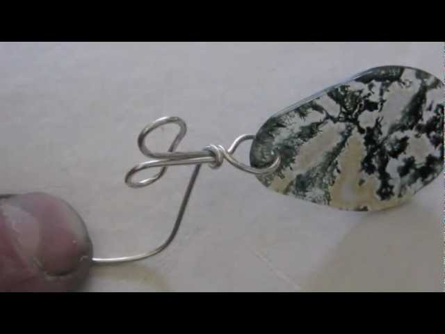 How to wrap a Y  bail   or a double wire baille
