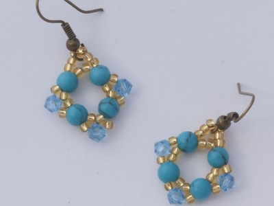 Make Beautiful Colorful Beaded Earrings - DIY Style - Guidecentral